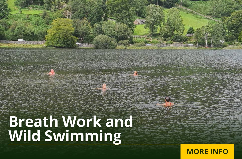 Breath Work and Wild Swimming